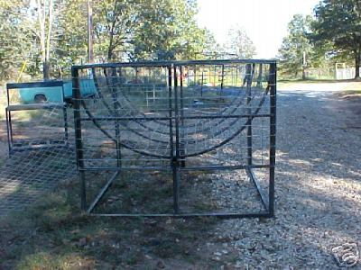 Round Bale Feeder This Durable Is 6 Long